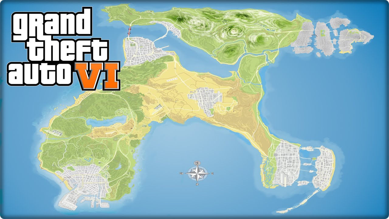 Gta 6 Map Of America.Gta 6 Release Date Uk In 2019 Suprising News 3 Latest Trailers